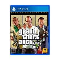 Jogo Grand Theft Auto V (Premium Online Edition) - PS4 - Rockstar games