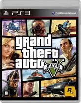 Jogo Grand Theft Auto V - PS3 - Rockstar Games