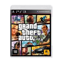 Jogo Grand Theft Auto V - PS3 - Rockstar games