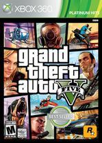 Jogo Grand Theft Auto V - Xbox 360 - Rockstar Games
