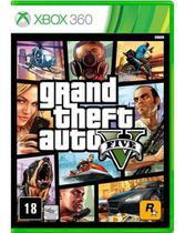 Jogo Grand Theft Auto V - Xbox 360 - Rockstar