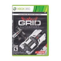 Jogo Grid Auto Sport Black Edition Xbox 360 e Xbox One - Codemasters