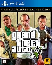 Jogo GTA V Premium Online Edition - PS4 - Rockstar games
