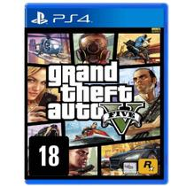 Jogo GTA V - PS4 - Take two