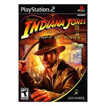 Jogo Indiana Jones and the Staff of Kings Play Station 2 - Lucasarts