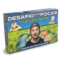 Jogo Infantil Desafio Das Focas Luccas Neto - Grow -