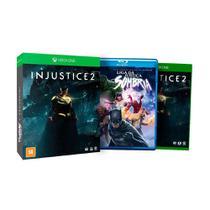Jogo Injustice 2 + Filme Liga da Justiça Sombria - Xbox One - Wb games