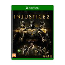 Jogo Injustice 2 Legendary Edition Xbox One - Mídia Física Lacrada - Xboxone