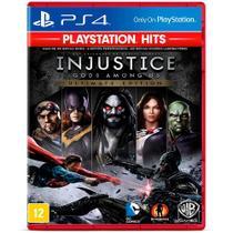 Jogo Injustice Gods Among Us Ultimate Edition ( Playstation Hits ) - PS4 - Warner Bros.