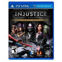 Jogo Injustice: Gods Among Us (Ultimate Edition) - PS Vita - Wb games