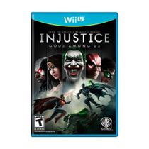 Jogo Injustice: Gods Among Us - Wii U - Wb games