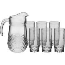 Jogo jarra com 6 copos Valse PAB97675U - Pasabahce