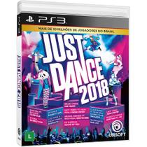 Jogo Just Dance 2018 - PS3 - Ubisoft