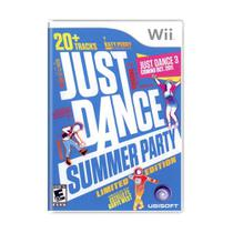 Jogo Just Dance: Summer Party (Limited Edition) - Wii - Ubisoft