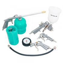Jogo Kit 5 Acessórios Pistola Pintura 5730455 Stels -