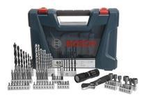 Jogo Kit De Ferramentas Brocas Titânio V-line Bosch 83 Pecas -