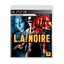 Jogo L.A Noire PS3 - Take Two