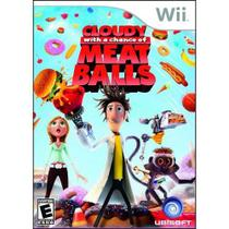 Jogo Lacrado Cloudy With A Chance Of Meatballs Nintendo Wii - Ubisoft