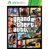 Jogo Lacrado Novo Grand Theft Auto V Gta 5 Para Xbox 360 - Rockstar