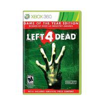 Jogo Left 4 Dead (Goty)  - Xbox 360 - Valve