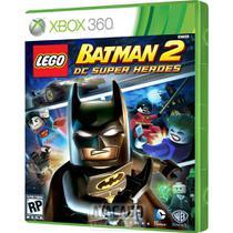 Jogo Lego Batman 2 Dc Super Heroes Xbox 360 Original - Warner Bros Games
