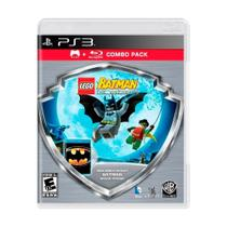 Jogo LEGO Batman The Videogame + Filme Batman Combo Pack - PS3 - Wb games