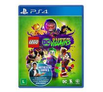 Jogo Lego DC Super Villains - PS4 - Tt Games