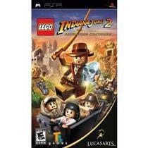Jogo Lego Indiana Jones 2 The Adventure Continues Novo Psp - Lucasarts