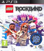 Jogo Lego Rockband Playstation 3 Midia Fisica Ps3 - Wb games
