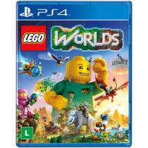 Jogo Lego Worlds - PS4 - Warner games