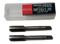 Jogo macho manual a/c mf10x1,25 2640026 rocast-amatools -
