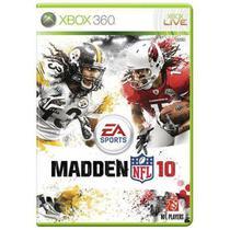 Jogo Madden Nfl 10 - Xbox 360 - Nflpa
