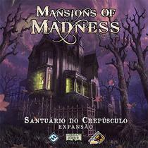 Jogo Mansions Of Madness Expansão Santuário Do Crepúsculo Galapagos -