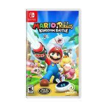 Jogo Mario + Rabbids Kingdom Battle - Switch - Ubisoft
