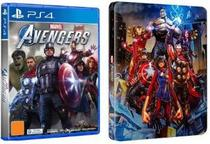 Jogo Marvel Avengers + Steelbook - PS4 - Square Enix
