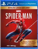 Jogo Marvels Spider-Man (Edição Jogo do Ano) - PS4 - Sony Interactive Entertainment