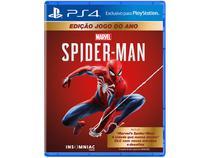 Jogo Marvels Spider-Man GOTY Edition para PS4 - Insomniac Games