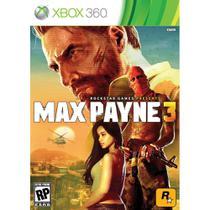 Jogo Max Payne 3 - Xbox 360 - Sega
