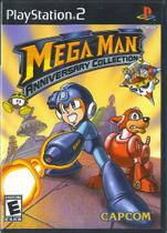 Jogo Mega Man Anniversary Collection Ps2 - Lacrado Físico - Capcom
