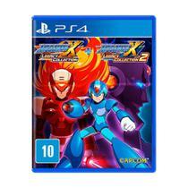 Jogo Mega Man X Legacy Collection 1 + 2 - PS4 - Capcom