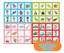 Jogo Memória Místicos - Insetos - Cozinha - Transportes 48 Pares - Way -