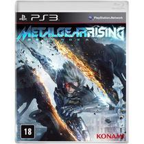 Jogo Metal Gear Rising: Revengeance - PS3 - Konami