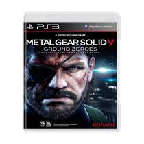 Jogo Metal Gear Solid V: Ground Zeroes - Ps3 - Konami