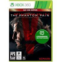 Jogo Metal Gear Solid V: The Phantom Pain - Xbox 360 - Konami
