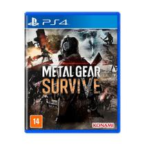 Jogo Metal Gear Survive - PS4 - Konami