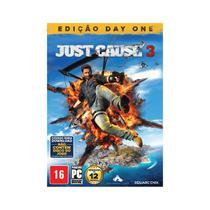 Jogo Mída Física Just Cause 3 Edição Day One Original PC - Square Enix