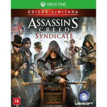 Jogo Mídia Física Assassin's Creed Syndicate - Xbox One - Ubisoft