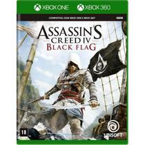 Jogo Midia Fisica Assassins Creed Black Flag Xbox 360 e One - Ubisoft