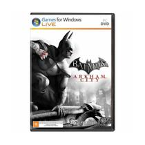 Jogo Midia Fisica Batman Arkham City Original Computador PC - Wb Games