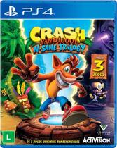Jogo Mídia Física Crash Bandicoot Trilogy Playstation Ps4 - Activision